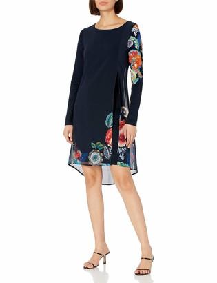 Desigual Women's Dress Long Sleeve