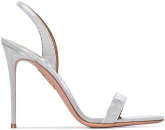 Aquazzura 105 So Nude sandals