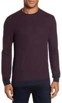 Vince Camuto Men's Space Dye Slim Fit Sweater
