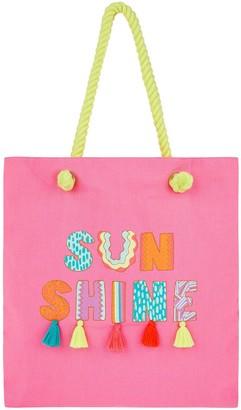 Accessorize Girls Sunshine Shopper - Pink