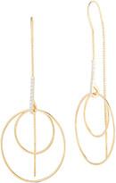 Reiss I. 14K 0.14 Ct. Tw. Diamond Thread Earrings