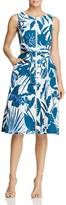 Lafayette 148 New York Karizza Floral Print Zip Dress