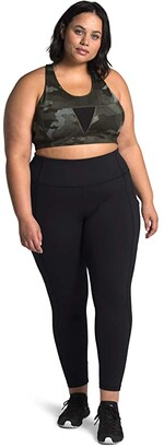 The North Face Plus Size Motivation Pocket 7/8 Tights (TNF Black) Women's Casual Pants