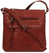 Wilsons Leather Womens Vintage Distressed Leather Crossbody