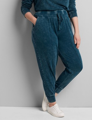 Lane Bryant LIVI Metro Jogger - Mineral Wash French Terry
