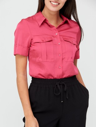 Very Formal Utility Shirt - Pink