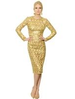 Dolce & Gabbana Macramé Lace Dress