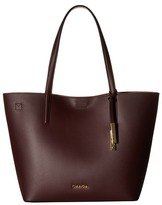 Calvin Klein Key Items Smooth Leather Tote