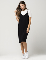 Mimichica MIMI CHICA Two Piece Tee And Midi Dress