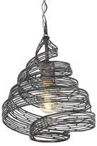Varaluz Flow 1 Light Twist Mini Pendant - Steel