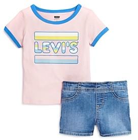 Levi's Girls' Tee & Shorts Set - Little Kid
