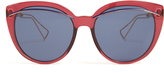 Christian Dior Oversized cat-eye acetate sunglasses