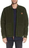 Obey Men's Market Stripe Pocket Crewneck Sweatshirt