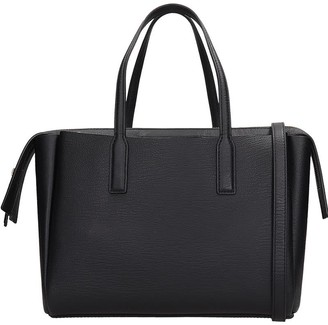 Marc Jacobs Tote In Black Leather