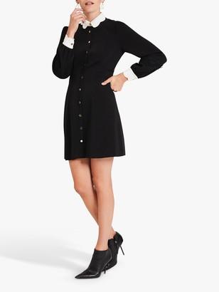 Damsel in a Dress Maneki Collar Mini Dress, Black