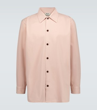 Acne Studios Houston cotton twill shirt