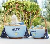 Pottery Barn Kids Super Hero Easter Basket Liner Blue, Small