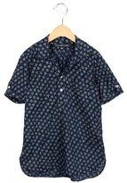 Little Marc Jacobs Girls' Star Print Short Sleeve Dress