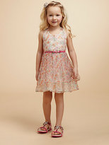 Juicy Couture Toddler's & Little Girl's Floral Organza Dress
