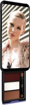 Samsung Utterly Cherry Mocha Kit Phone Makeup Case For S8 Plus Black & Purple Case
