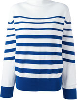 Sacai striped jumper - women - Cotton - 1