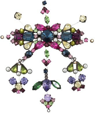 Gianfranco Ferré Pre Owned 2000s Embellished Brooch