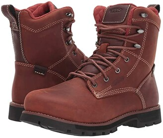 Keen Seattle 8 Aluminum Toe Waterproof (Gingerbread/Black) Women's Work Boots