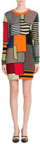 Moschino Colorblock Wool Dress