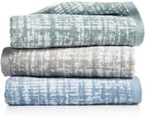 """Hotel Collection Plaid 13"""" Square Turkish Cotton Washcloth, Created for Macy's"""