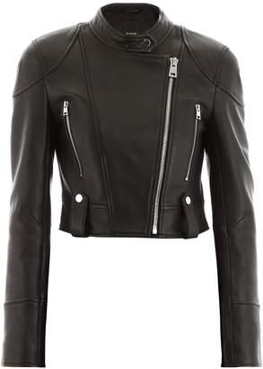 Pinko Asymmetric Zip Biker Jacket