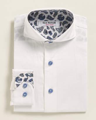 Isaac Mizrahi Boys 4-7) Solid Dress Shirt
