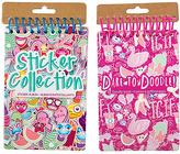 Fashion Angels 'Dare to Doodle' Notebook & Sticker Album Set