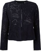 Drome laser cut-out jacket