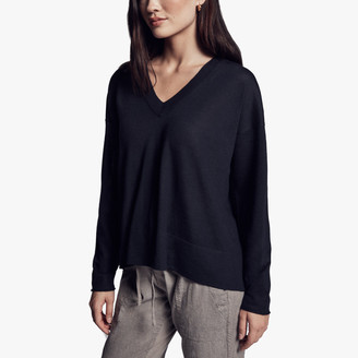 James Perse Boxy Lightweight Cashmere Sweater