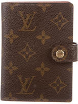 Louis Vuitton Small Monogram Agenda Cover