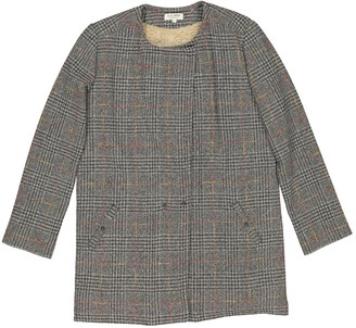 Roseanna Grey Wool Coat for Women