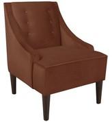Wayfair Custom Upholstery Side Chair Body Fabric: Premier Chocolate