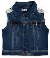 Dex Girls Lace Denim Vest