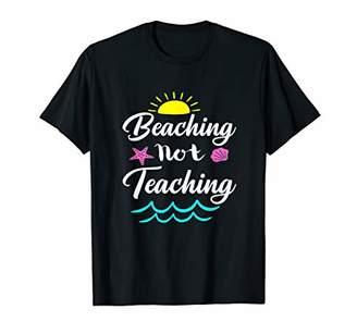 Summer Vacation Teacher End of School Year Beaching Meme T-Shirt