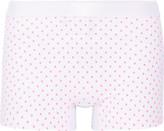 Monreal London Polka-dot Stretch-jersey Shorts - Pink