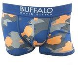 Buffalo David Bitton Men's Underwear BD10711P Frost Grey Camo Print Large