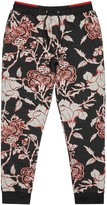 Mcq Alexander Mcqueen Floral-print Cotton Jogging Trousers