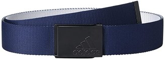 adidas Reversible Web Belt (Grey Three) Men's Belts