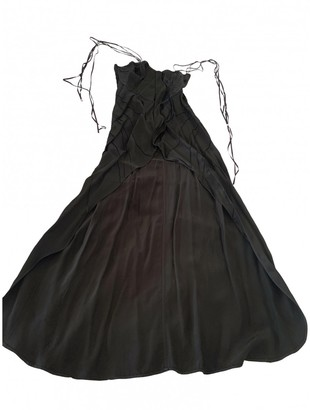 CNC Costume National Black Viscose Dresses