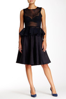 Gracia Perforated Faux Suede Skirt
