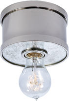 Ralph Lauren Roark Small Flush Mount, Polished Nickel