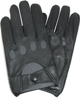 totes ISOTONER Mens Classic Leather Unlined Driving Gloves