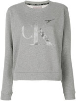 Calvin Klein Jeans logo print sweatshirt - women - Cotton - S