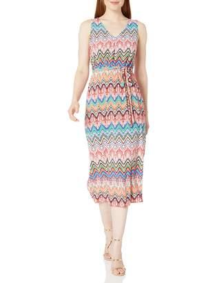 Nine West Women's Sleeveless Midi Dress