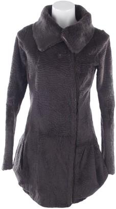 Preen Grey Fur Jacket for Women